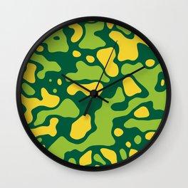 Camo 148 Wall Clock