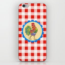 Rise and Shine Rooster iPhone Skin