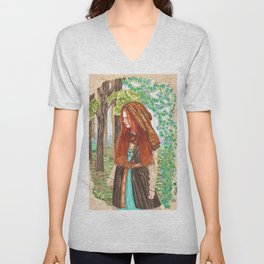 The Goddess Nanna Unisex V-Neck