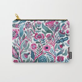 Endlessly growing - pink and turquoise Carry-All Pouch