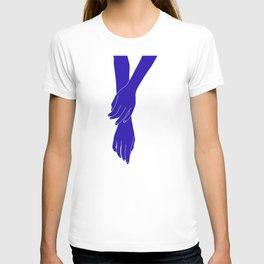 Colour block hands illustration - Effie T-shirt