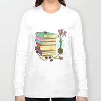books Long Sleeve T-shirts featuring Books by famenxt