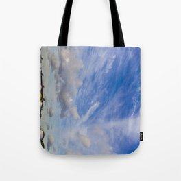 Dramatic sky London Tote Bag