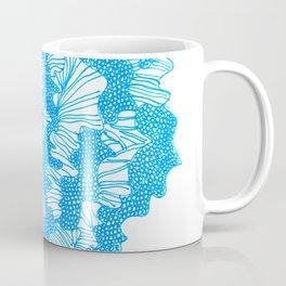 March's Blue 2  | Artline Drawing Pens Sketch Coffee Mug