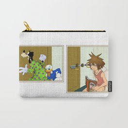 KINGDOM HEARTS: WINNIE THE POOP Carry-All Pouch
