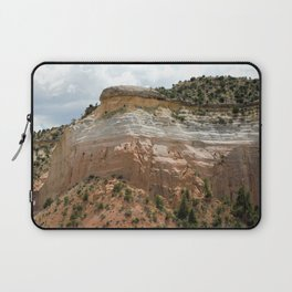 "Mesas of New Mexico in ""Dreamcicle"" Color Laptop Sleeve"