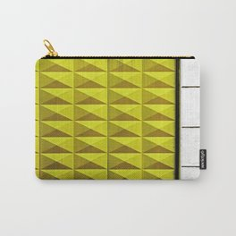 Yellow Wall Carry-All Pouch
