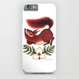 Squirrel Stretch iPhone Case