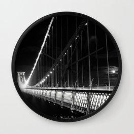 Clifton Suspension Bridge Wall Clock