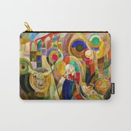 Marche au Minho (Market in Minho) by Sonia Delaunay Carry-All Pouch
