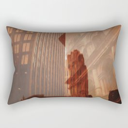 Old Montreal by Jean-François Dupuis Rectangular Pillow