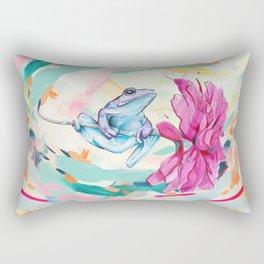 Frog Trip Rectangular Pillow