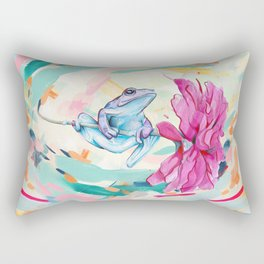 Frog Trip Rectangular Pillow