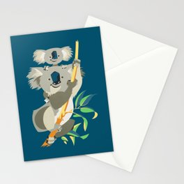 Koala Bear and Child Stationery Cards