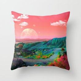 Unicorn Valley Throw Pillow
