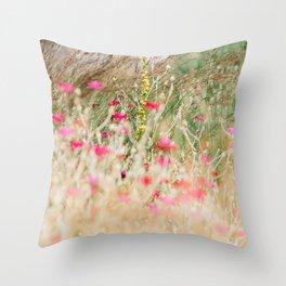 Aquarelle dreams of nature Throw Pillow