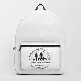 Friends Walk Together Backpack