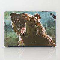teddy bear iPad Cases featuring TEDDY by Tina Yu