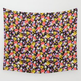 Floral Haze Wall Tapestry