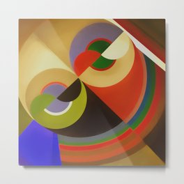 Abstract Composition 21 Metal Print