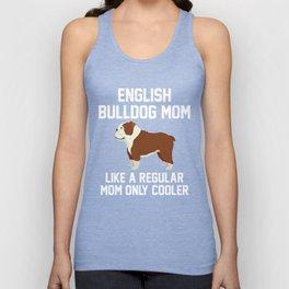 Funny English Bulldog Mom Unisex Tank Top