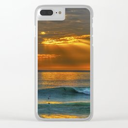 Sunset and a Show Clear iPhone Case