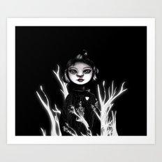 Forest Heart Art Print