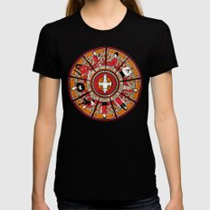 Cathedral of the Serenity Womens Fitted Tee X-LARGE Black