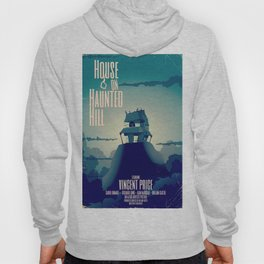 House on haunted hill vintage cartoon movie poster Hoody