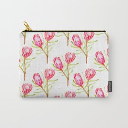 Pink Protea Carry-All Pouch