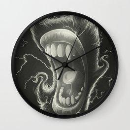 Mouth Wall Clock