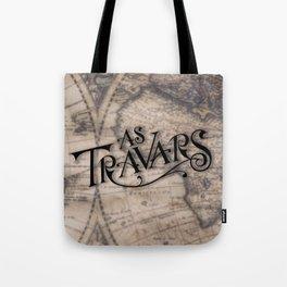 As Travars - To travel (map) Tote Bag