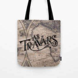 As Travars - To travel (map) Tote Bag