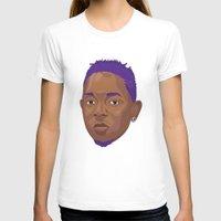 kendrick lamar T-shirts featuring Purple Kendrick by David Savelberg