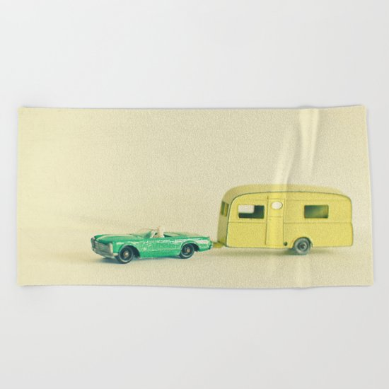 Summer Holiday Beach Towel