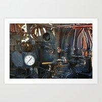 steam punk Art Prints featuring Steam Punk by Clipper and Nana Carrillo