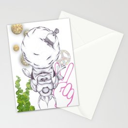 Groovy Fish Stationery Cards