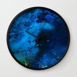 Deep Blue Sea Wall Clock