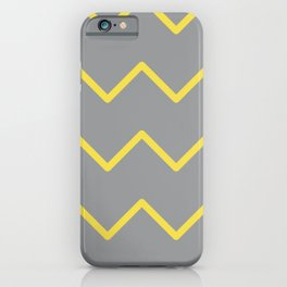 Ultimate Gray and Illuminating Waves iPhone Case