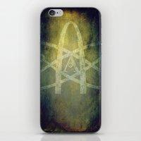 atheist iPhone & iPod Skins featuring Atheist by Schweí Übersteigen