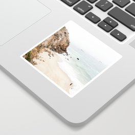 Malibu California Beach Sticker