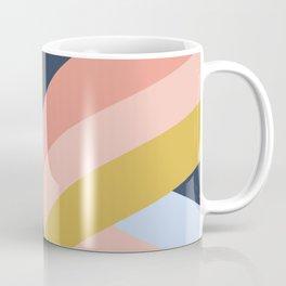 SUNSET MINIMAL STRIPES Coffee Mug