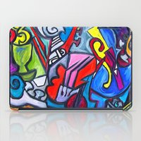 the mortal instruments iPad Cases featuring Musical Instruments          by Ming Myaskovsky