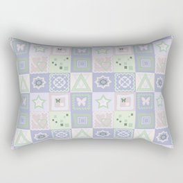 """Абстрактный узор   """"Пастельный тон  """". Rectangular Pillow"""