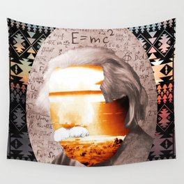 E=MC2 Wall Tapestry