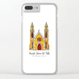 Basilica de Nuestra Senora del Valle Clear iPhone Case