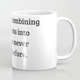 Gloria Steinem Feminist Quotes - Revolutions Coffee Mug