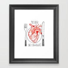 Heart Sweet Framed Art Print