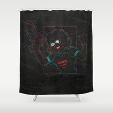 Revolver Shower Curtain