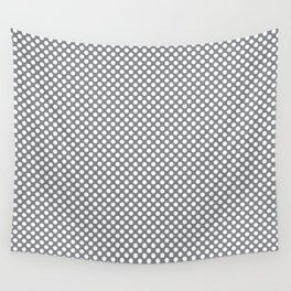 Sharkskin and White Polka Dots Wall Tapestry